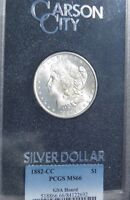 1882-CC Morgan Dollar - MS-66 PCGS (GSA Hoard)