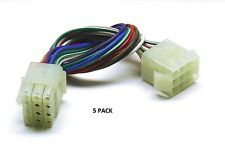 5 PACK 12 PIN MPC Series Locking Mating - Color-Coded 18 AWG Wire Loop # MPC-12