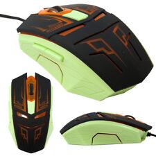 Mouse ottico cavo USB gaming gioco 6D 6 tasti alta risoluzione fino a 3200 dpi