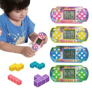 Kids Mini Tetris Game Console LCD Handheld Game Players Children Educational Toy