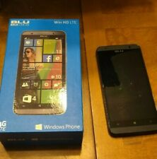 BLU Win HD LTE Windows Phone 8GB - Black Not Working Parts Only