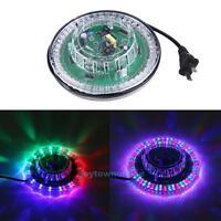 Crystal UFO 48LED RGB Sunflower Rotaing Light DJ Disco Stage Laser Lighting Lamp