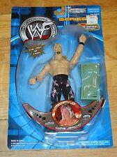 2001 WWF WWE Jakks Chris Jericho Wrestling Figure MOC Sig Series 13 Silver Ed