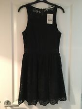 Kimchi Blue Urban Outfitters Size Small Black Lace Skater Dress BNWT RRP£58