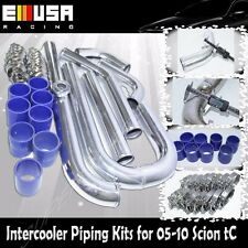 Intercooler Piping+Silicones+Clamps for 05-10 Scion tC Base Coupe 2D