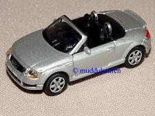 Audi TT Roadster Cabrio silber 1:87 H0 WELLY 031 Neu