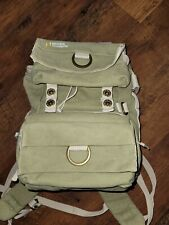 National Geographic Earth Explorer Medium Camera/Laptop Canvas Backpack
