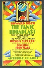 The Panic Broadcast by Howard Koch Martian Invasion Orson Welles (1970, Pback)
