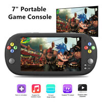 "7"" 8GB 16GB Retro Classic Handheld Game Console Portable 1300 Built-in Games"
