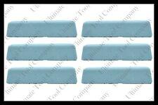 (6) 2lb Blue Polishing Compound Aluminum High Gloss Mirror Shine Final Step