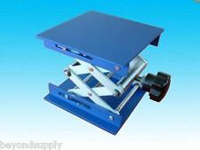"lab aluminium oxide  Lab Jack10""(25cm)x8""(20cm)Scissor Stand lifting table new"