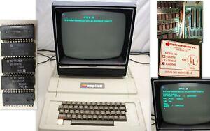 Rare Museum Item Original working Apple II Computer  A2S1-64758 Ships Worldwide