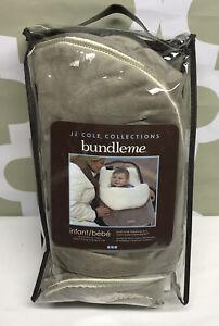 JJ Cole Bundle Me Infant Grey Graphite Thermoplastic Stroller Blanket