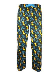 Mens Bart Simpson Cool Cotton Loungepants Comfy Christmas Stocking Filler
