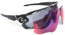 Oakley OO9290-01 Jawbreaker Sunglasses Black Iridium Polished Black + Prizm Road