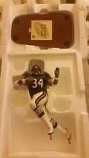 WALTER PAYTON Chicago Bears All-Star DANBURY MINT Football Figurine Statue Base