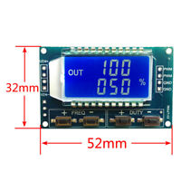 Signal Generator PWM Pulse Frequency Duty Cycle Module LCD 3.3V-30V Adjustable