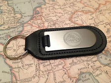 LOTUS Key Ring Blind Etched On Leather ELISE ELAN EVORA