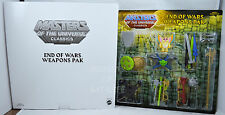 Masters of the Universe Classics END OF WARS WEAPONS PAK NEW!!! HTF!!