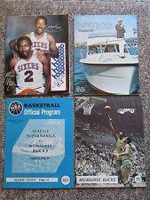 HUGE  NBA Collection.  Program, tickets, photos, etc. 1970-1993