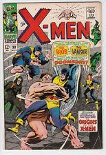 X-MEN Uncanny # 38 1967 ORIGINS OF THE X-MEN The Blob & Vanisher