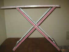 Child's Vintage Used Children Metal Folding Ironing Board Ironing Table Ohio Art