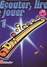 PARTITION ECOUTER LIRE ET JOUER FLUTE TRAVERSIERE V1 +CD