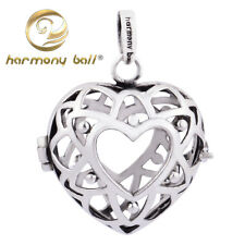 Silver Harmony Ball Pendant Angel Caller Chime Sound Mexican Bola Only 20mm CAGE