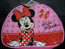 Disney Minnie Mouse Character Insulated Lunch Bag. BNWT. Dinner Bag (LB1)