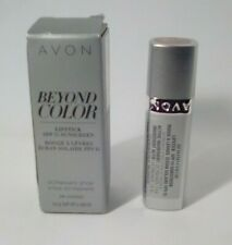 Avon Beyond Color Lipstick SPF 15 Sunscreen Heat Wave lot of 3. NEW IN BOX 3.0g