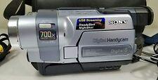 Sony Handycam DCR-TRV250 Digital-8 Camcorder  fully functional