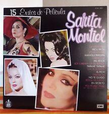 SARITA MONTIEL 15 EXITOS DE PELICULA MEXICAN LP LATIN POP
