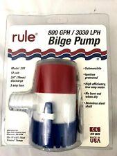 1000-BP750A 3//4 in 750 GPH hose WSM Automatic Bilge Pump