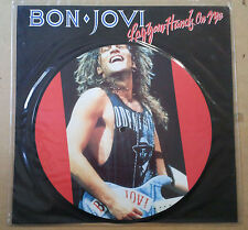 "Bon Jovi Lay Your Hands On Me maxisingle 10"" Inglaterra 1989 fotodisco color"
