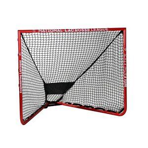 "Wolf Athletics Mini NLL Backyard Goal Matte Red 4'9""x4'"