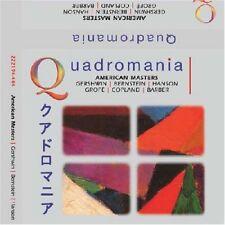 QUADROMANIA AMERICAN MASTERS CD NEW SEALED GERSHWIN BERNSTEIN COPLAND BARBER