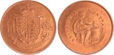 Gran bretagna, Muenzprobe Britannia Moneta Royal Mint fresco stampa
