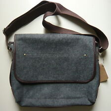 Timberland Earthkeepers Messenger bag anthrazit braun recycled Tasche