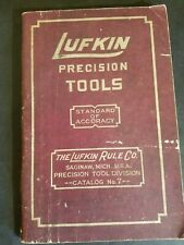 Vintage 1950's Lufkin Precision Tools Catalog No. 7