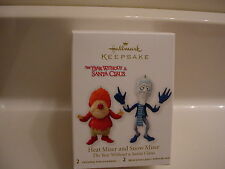 2012 Hallmark Heat Miser and Snow Miser Year Without A Santa Claus Ornament NIB