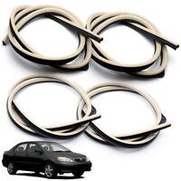 Weatherstrip Door Rubber Seal Set fits Toyota Corona AT141 TT CT140 Carina TA60