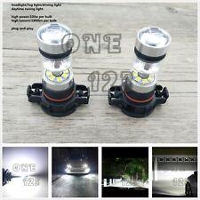 5202 PS24WFF CREE LED Fog Light Conversion Kit Bulb Super Bright 6000K White 55W