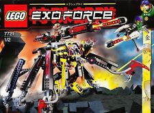 NEW Lego Exo-Force 7721 Combat Crawler X2 SEALED