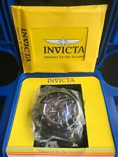 Invicta Men's 'S1 Rally' Quartz Stainless Steel and Leather Casual Watch, Color: