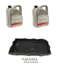 BMW 8HP Auto Trans Service Kit Oil Pan & Filter Kit Gasket Plugs 10L Fluid ATF