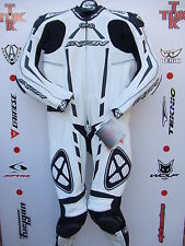 IXON Pulsar one Piece race leathers with hump uk 42 euro 52