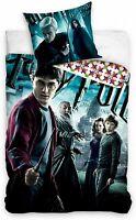 Harry Potter Set Cama Hogwarts Draco Funda Nórdica 140x200cm Almohada Algodón