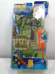 Max Steele Mattel Rocking Firing Weapon Bazooka Secret Commando Battlegear 1999