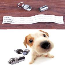 New Popular Anti-Lost Pet Dog Cat ID Address Name Label Tag Collar Accessories