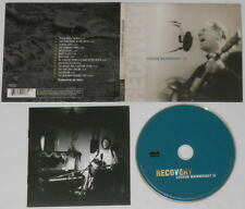 Loudon Wainwright III  Recovery  U.S. cd, digipak